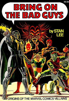 Bring on the Bad Guys, John Romita cover, Mephisto,GreenGoblin,Dormammu,Abomination,Red Skull,Loki,Stan Lee