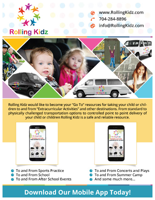 Introducing Transportation for Children in Charlotte by Rolling Kidz!
