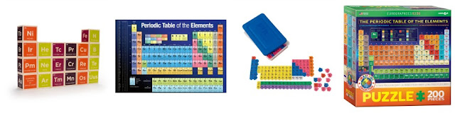 Periodic table themed stocking stuffer ideas for kids from And Next Comes L
