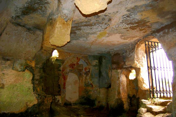 Affreschi chiesa Grotte Padre Eterno Gravina
