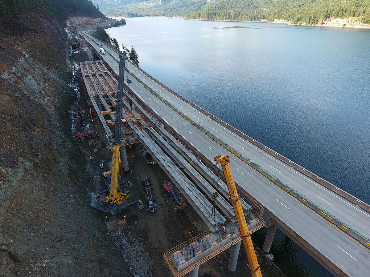 The wsdot blog washington state department of for I 90 construction