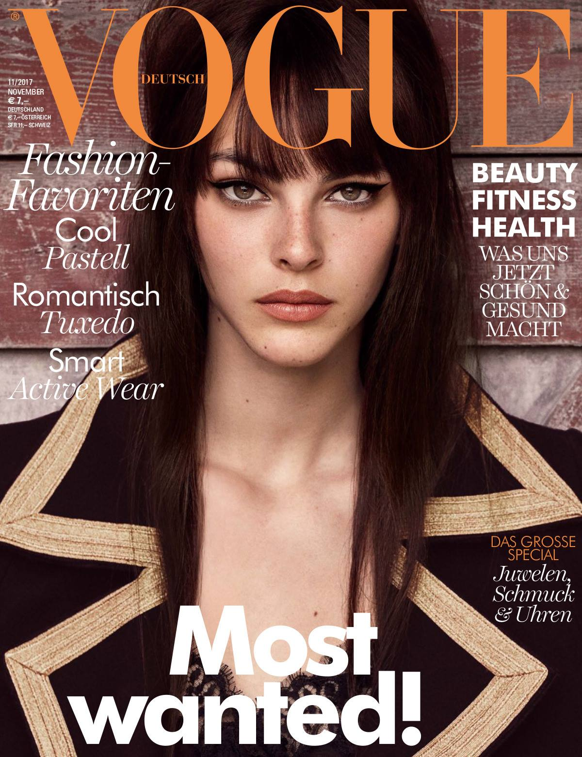 Vogue Germany | November 2017 Vittoria Ceretti by Luigi & Iango