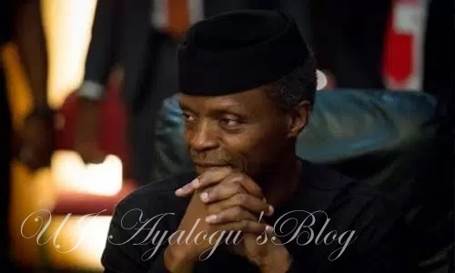 12 days after Buhari left for UK, Osinbajo signs 3 executive business orders
