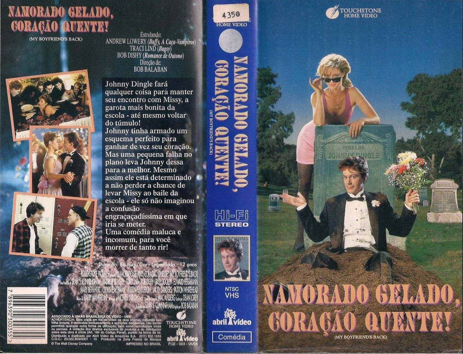 VHS - O Último Reduto: Namorado Gelado, Coração Quente!