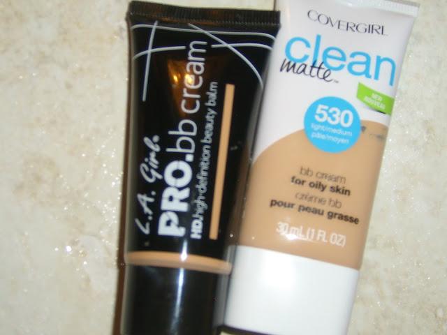 LA Girl Pro BB Cream Covergirl Clean Matte BB Cream