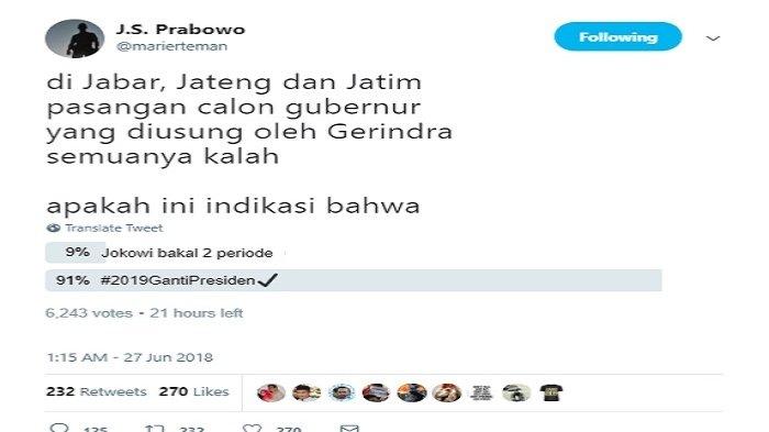Image Result For Hasil Voting Prabowo Dan Jokowi