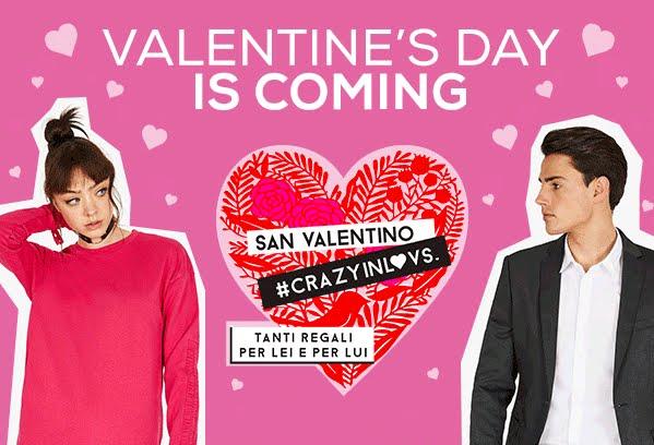 San Valentino, idee regalo per Lei e per Lui: abbigliamento moda shooping online con OVS