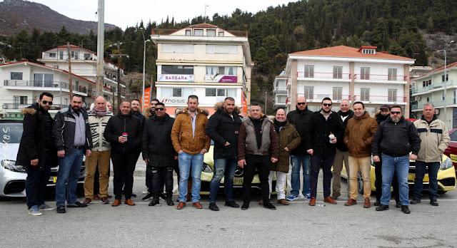 Στην Καστοριά πραγματοποιήθηκε η 3η Πανελλήνια Συνάντηση του Mercedes Taxi Club Ελλάδος