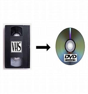PRZEGRYWANIE KASET VIDEO VHS NA DVD