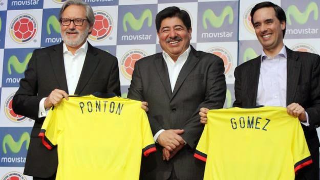 Movistar seguirá con Colombia hasta el año 2018