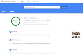 Terbaru, Hari Ini Pagespeed Insight Google Berubah Tampilan, Cek Fitur Terbarunya