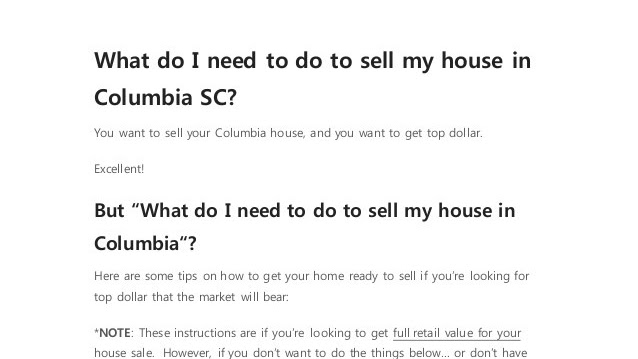 Short Sale (real Estate) - I Want To Sell My House
