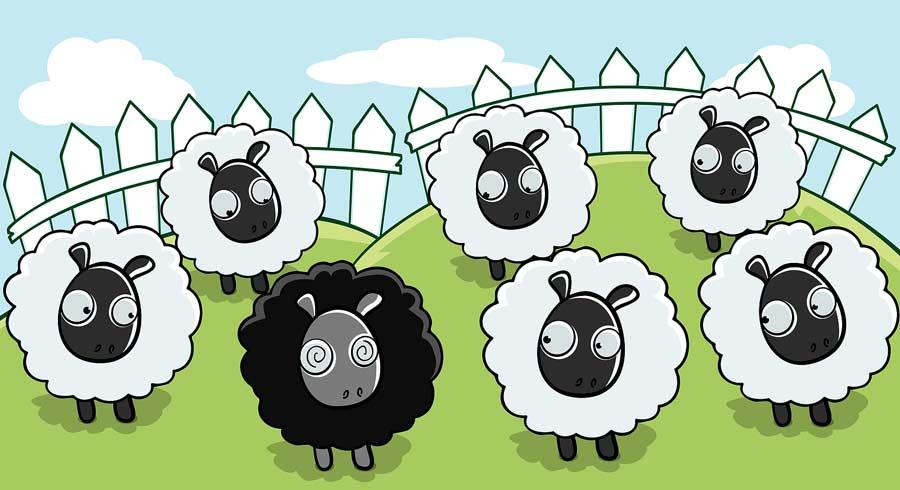 La fábula de la oveja negra y el  valor de la honestidad
