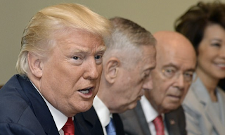 Trump praises 'superb' new chief of staff John Kelly as he insists top West Wing aide isn't inheriting a White House in chaos