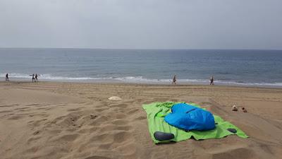 relax su una duna