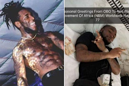 SEE WHAT DAVIDO  IS DOING WITH BLACKAXE CULT MEMBER THAT GOT PEOPLE TALKING