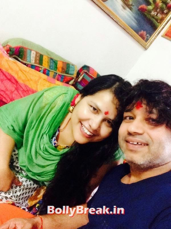 Kailash and Nutan Kher, Bollywood's Raksha Bandhan Pics - 2014