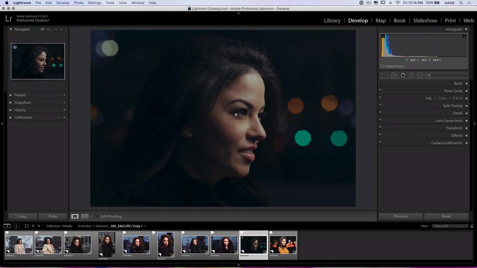 How to Color Grade a Cinematic Portrait in Lightroom