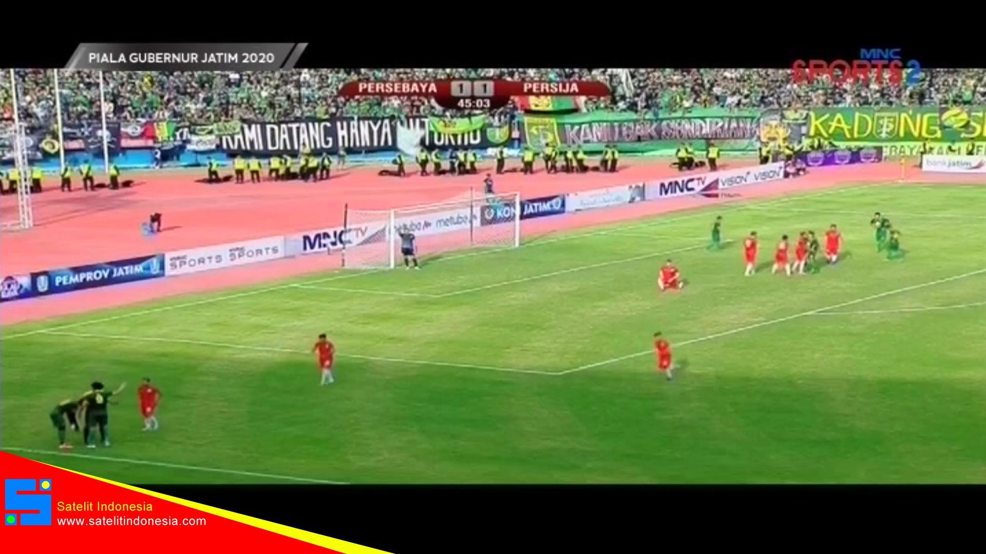 Frekuensi siaran MNC Sports 2 di satelit Palapa D Terbaru