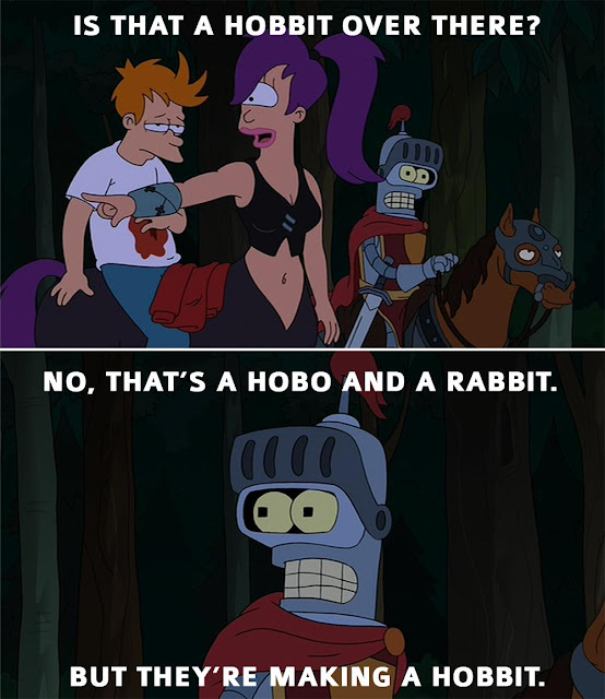 Futurama comic strip
