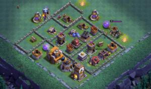 Base Aula Tukang Level 5 Clash Of Clans
