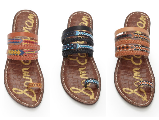 Sam Edelman: Lawrence  Sandals only $29 (reg $80) + free shipping!