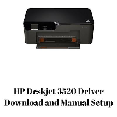 HP Deskjet 3520 Driver Download and Manual Setup