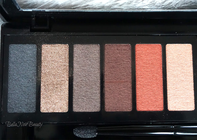 BlackUp Cosmetics Brown Nude Eyeshadow Palette | bellanoirbeauty.com