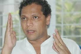 Sports Minister Dayasiri Jayasekara