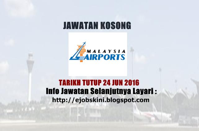 Jawatan Kosong Malaysia Airports (MAHB)