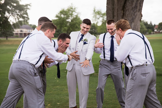 groomsmen at Fern Hill Golf Course funny