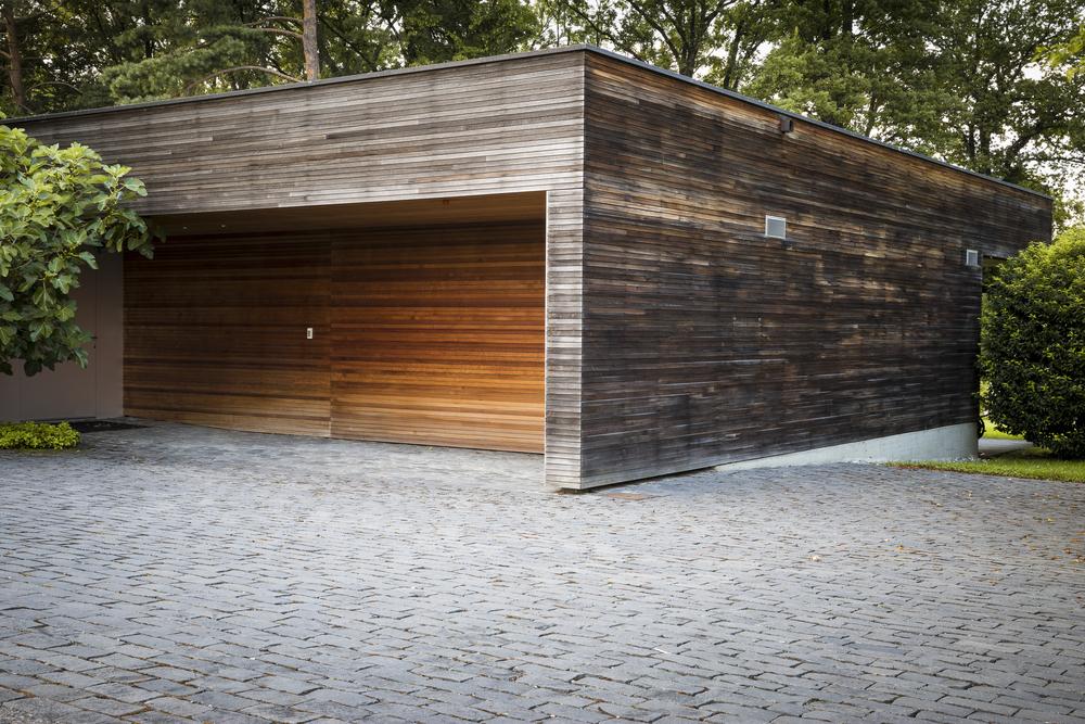 So Werden Garagen Aus Holz Zum Absoluten Blickfang Im Garten Pineca