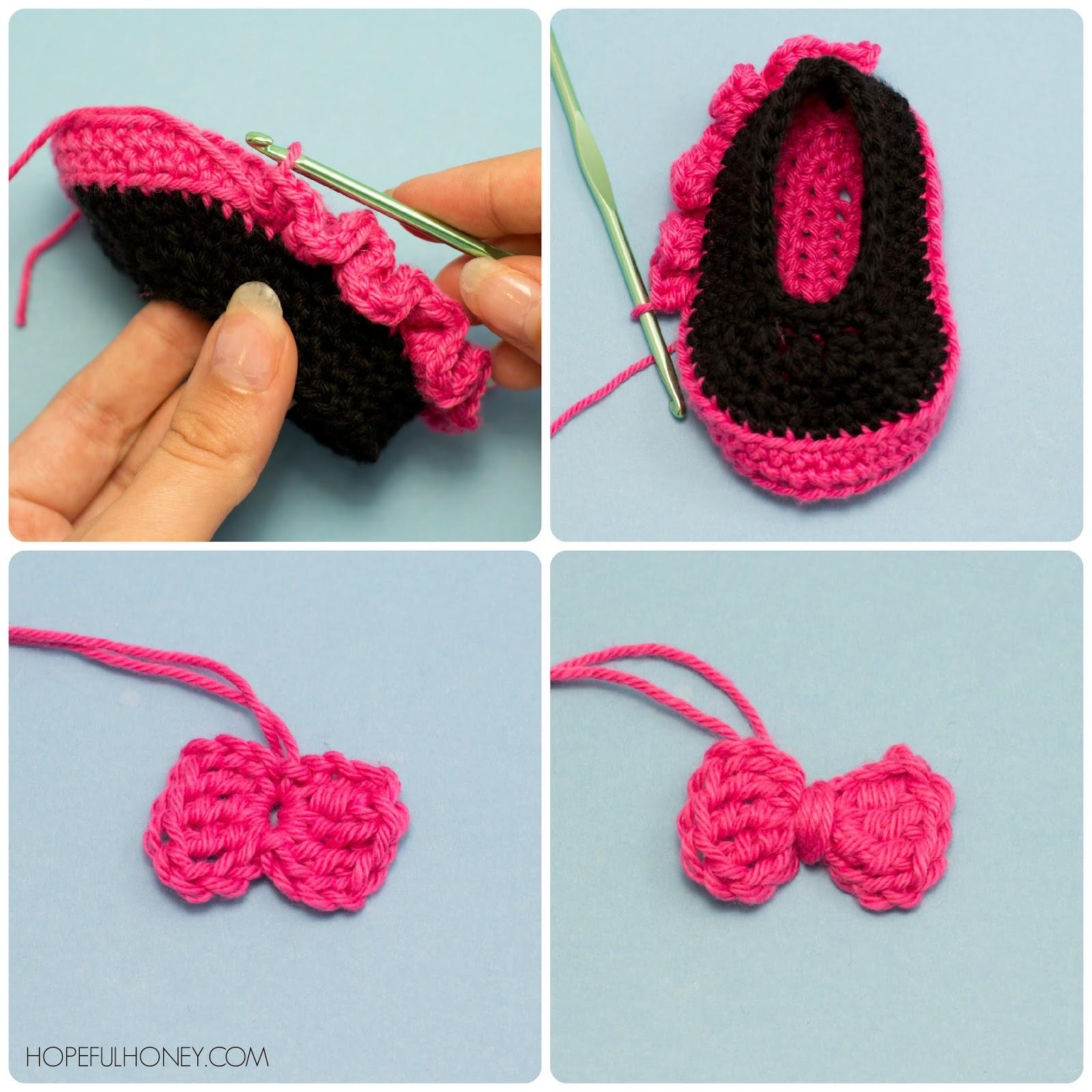 baby booties pattern for gumpaste
