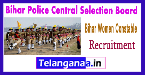 Bihar Women Constable Recruitment 2017-18 Syllabus