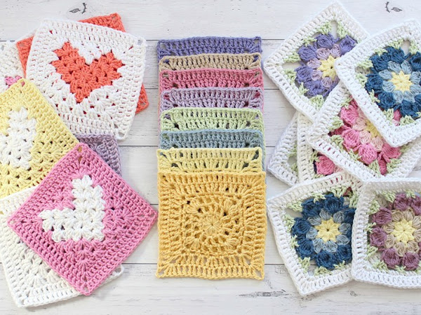 Casual Granny Square CAL- Part Three