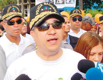 Director Policía insta a los hombres a más tolerancia