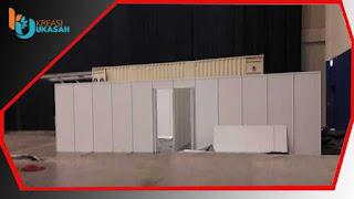 contoh partisi r8 ruang ganti