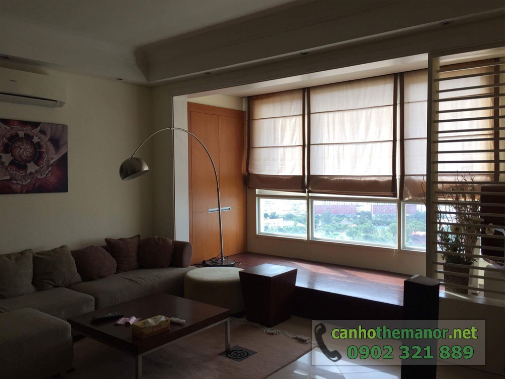 The Manor 1 Ho Chi Minh cho thuê căn hộ 2 phòng ngủ - hình 4