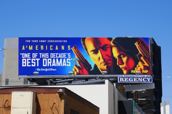 Americans final season Emmy FYC billboard