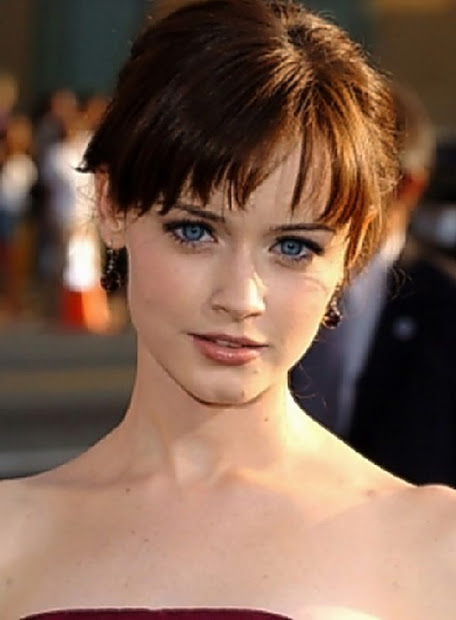 short haircuts with bangs trends