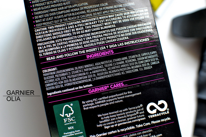 Garnier Hair Color Dark Natural Brown