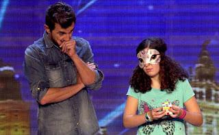 Berta: cubo rubik. Got Talent Gala 1
