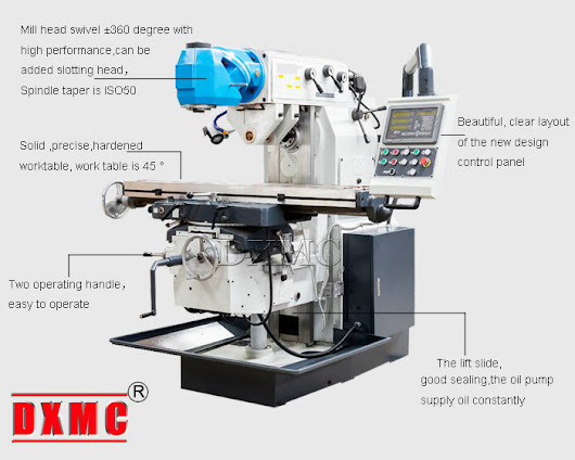Equipment management of CNC universal milling machine