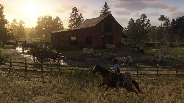 رسميا روكستار تنطلق في عملية الترويج للعبة Red Dead Redemption 2 و ترسل أول المحتويات ، شاهد بالفيديو ..