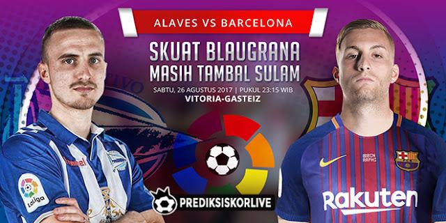 La Liga Deportivo Alaves vs Barcelona