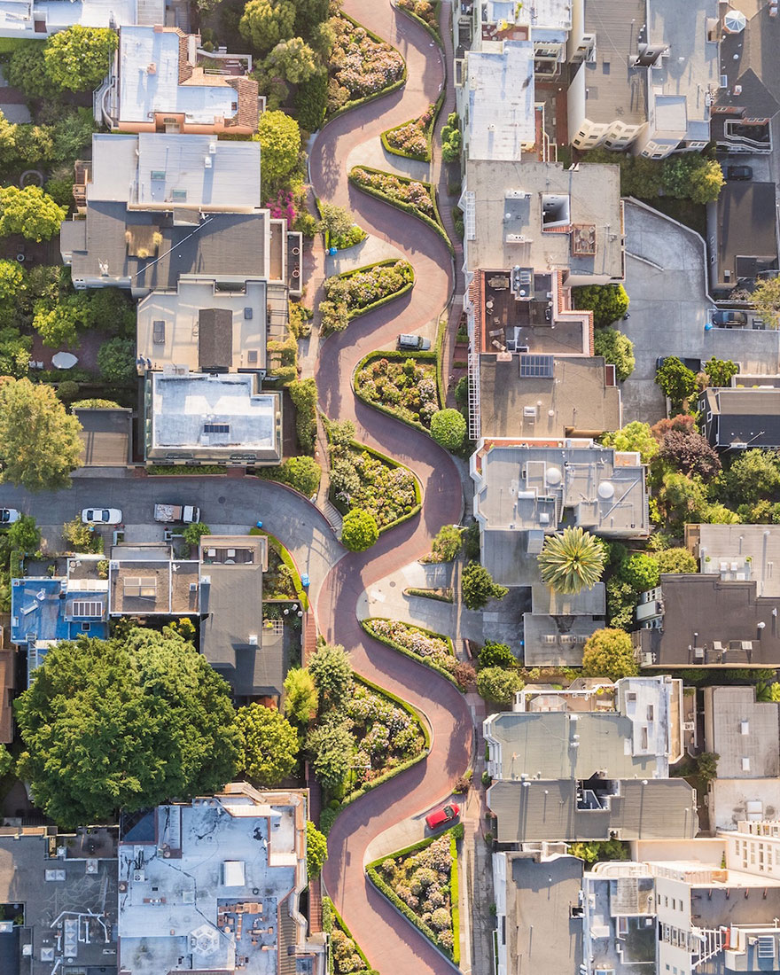 These Are The 35 Best Pictures Of 2016 National Geographic Traveler Photo Contest - Lombard Street, San Francisco, United States