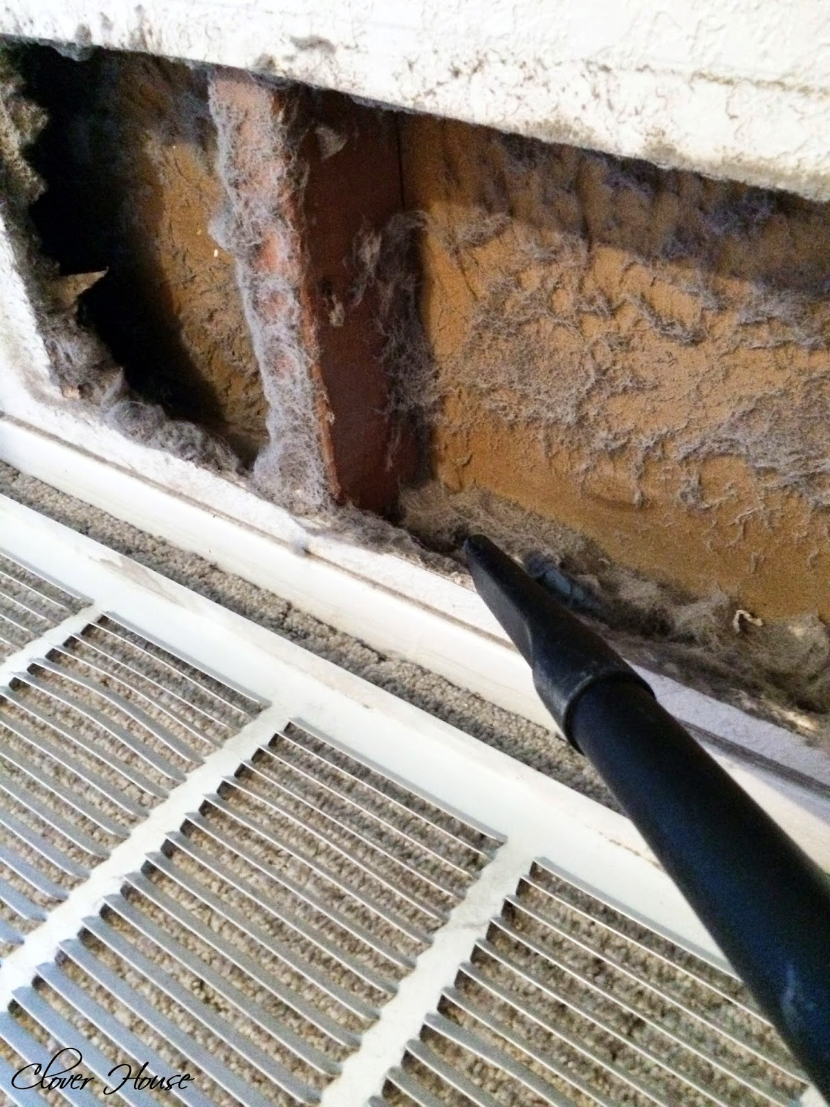 Clover House How To Clean Your Return Air Vent