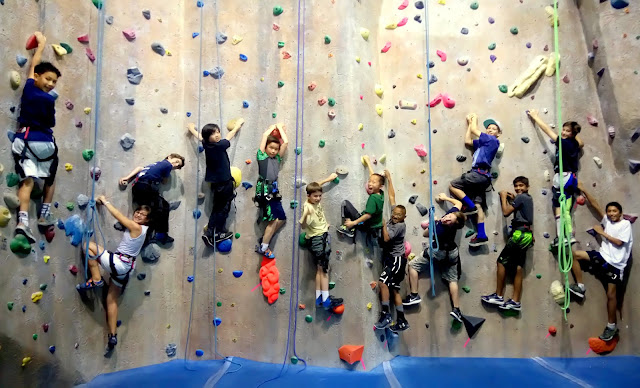 boulderdash rock climbing gym