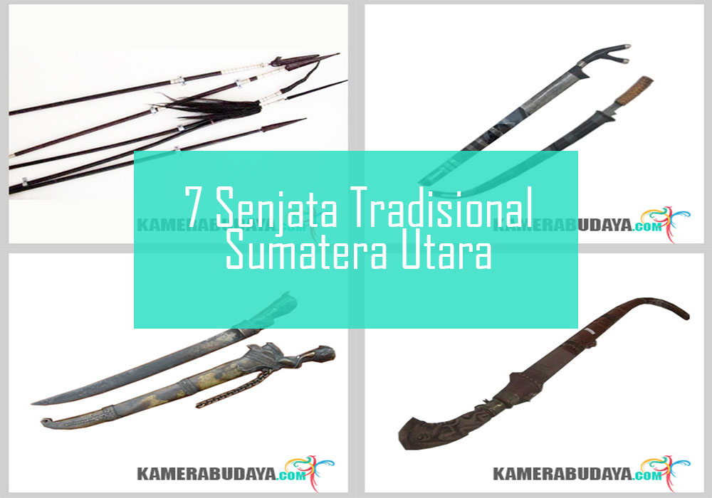 Inilah 7 Senjata Tradisional Dari Sumatera Utara