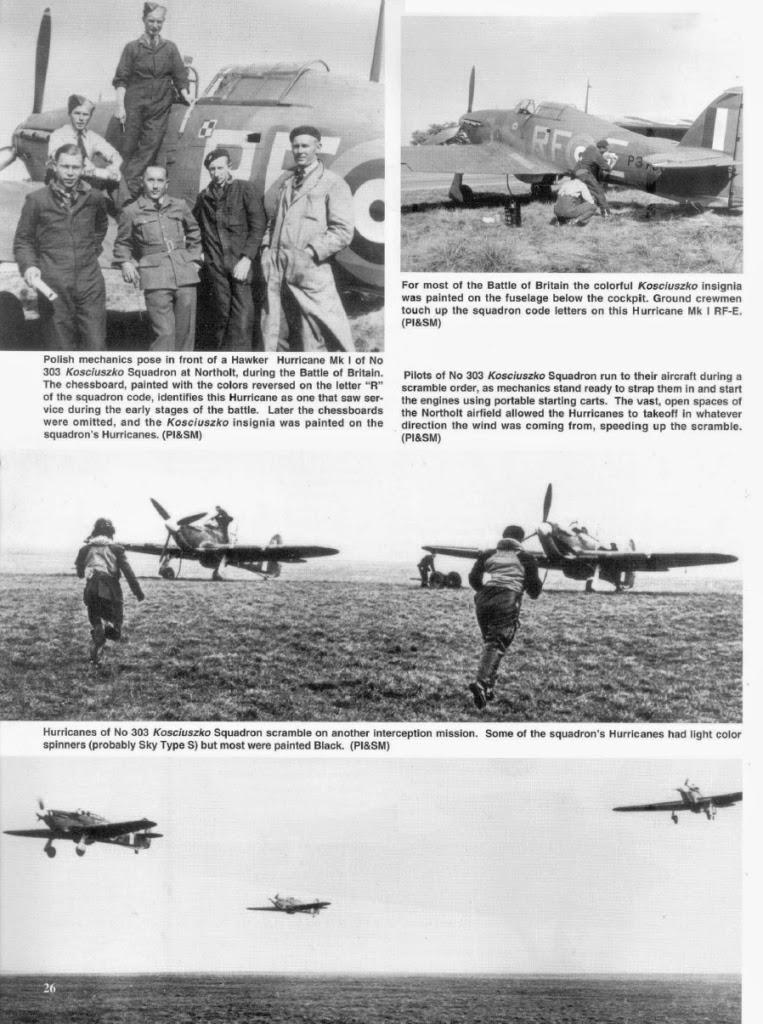 The War Over Britain 1939-45: No  303 Polish Fighter Squadron
